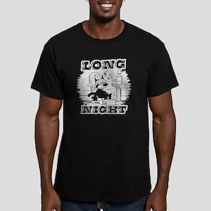 4-longnight Men's Fitted T-Shirt (dark)