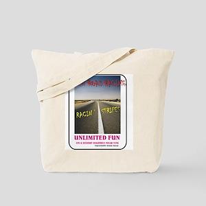 ORR Racin' Stripes Tote Bag
