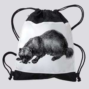 Wolverine Drawstring Bag