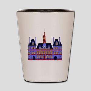 lHôtel de Ville (the City Hall), Paris Shot Glass