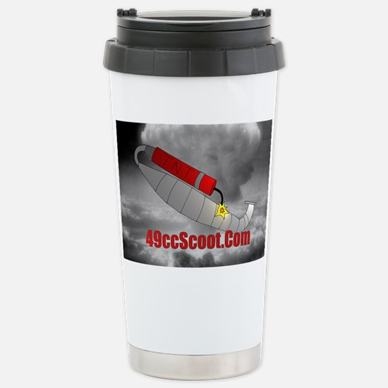nucular2t Stainless Steel Travel Mug
