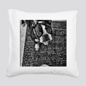 Give_a_Dog Square Canvas Pillow