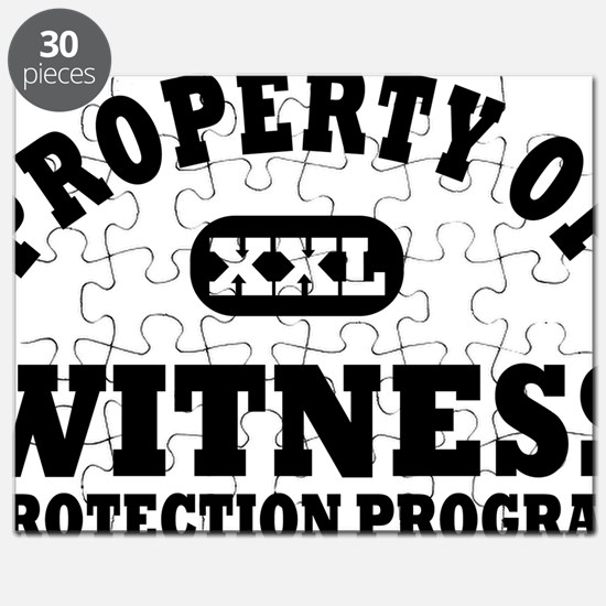 Property of Witness Protection Program Shir Puzzle