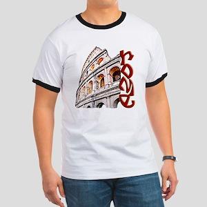 rome-coliseum-t-shirt Ringer T