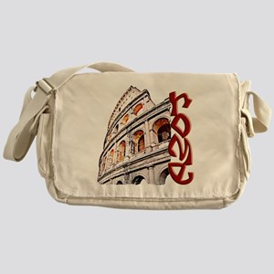 rome-coliseum-t-shirt Messenger Bag