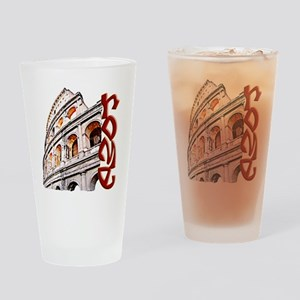 rome-coliseum-t-shirt Drinking Glass