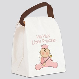 yia yias little princess Canvas Lunch Bag