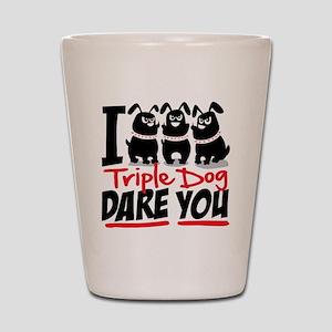 tripledog Shot Glass