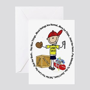 Laborcoach Greeting Card