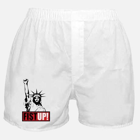 FistUpLogoNew Boxer Shorts
