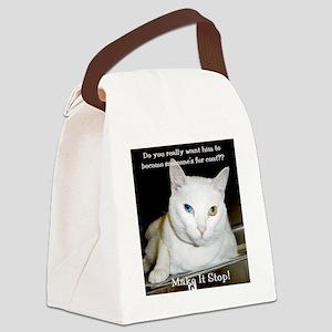 2-frankie Canvas Lunch Bag