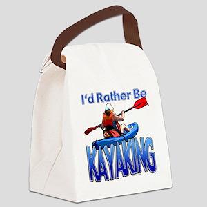 kayaking Canvas Lunch Bag