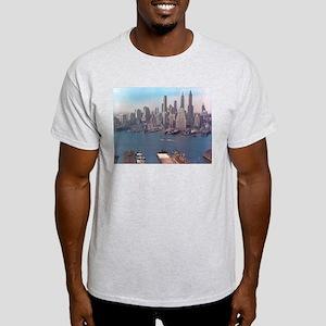 New York City Skyline 1948 Light T-Shirt