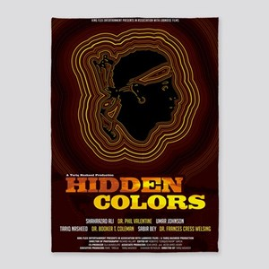 24x36_hiddencolorsposter 5'x7'Area Rug