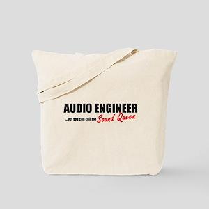 Sound Queen Tote Bag