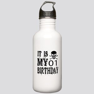 It Is My 01 Birthday Stainless Water Bottle 1.0L