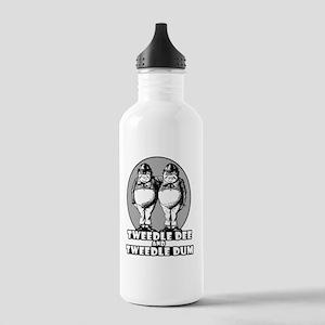 Tweedle Dee and Tweedl Stainless Water Bottle 1.0L
