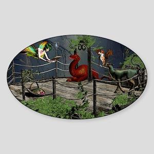 Fairytale Story Sticker (Oval)