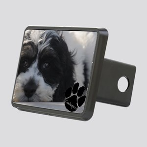 cockapoo Rectangular Hitch Cover