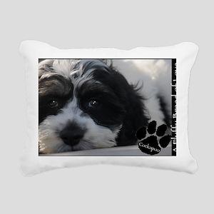 cockapoo Rectangular Canvas Pillow