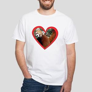 Red Panda Hear T-Shirt
