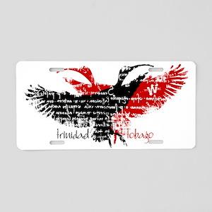 scarlet_ibis_1 Aluminum License Plate