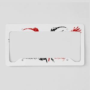 scarlet_ibis_1 License Plate Holder