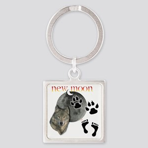 New Moon 2 T Square Keychain