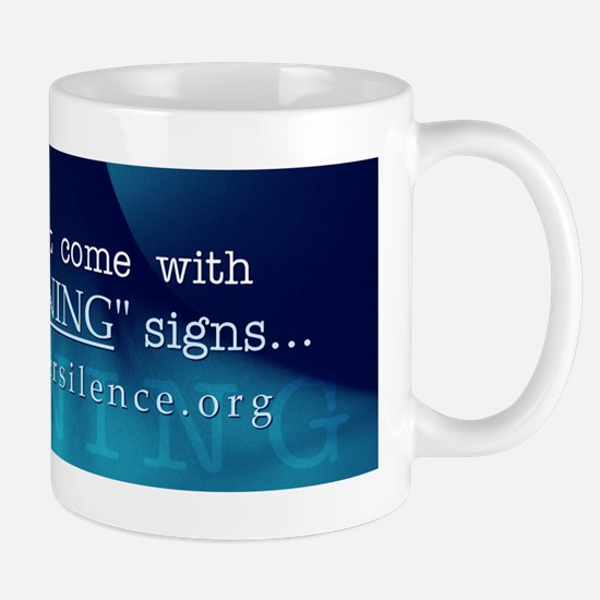 """Warning"" Signs Mug"
