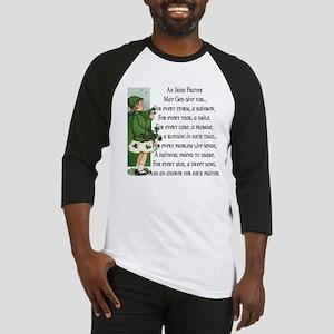 An Irish Prayer Baseball Jersey
