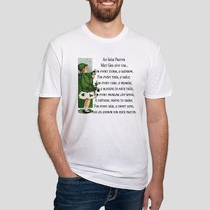 An Irish Prayer Fitted T-Shirt