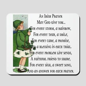 An Irish Prayer Mousepad