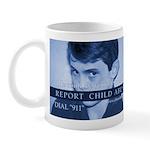 Report Child Abuse Mug