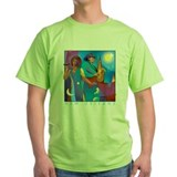 French quarter Green T-Shirt
