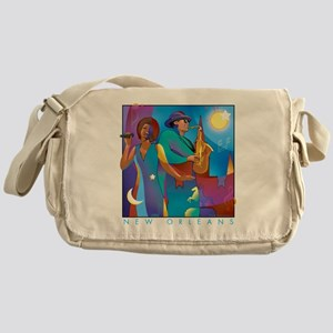 NO Poster 10inches high Messenger Bag