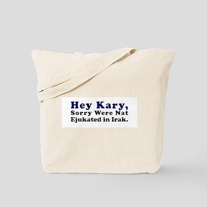 Troop Education Tote Bag