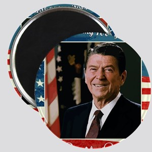 Ronald_Reagan_100th_12x12 Magnet