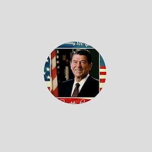 Ronald_Reagan_100th_12x12 Mini Button