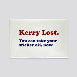 Kerry Lost Rectangle Magnet