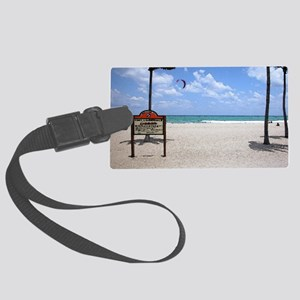 Ft Lauderdale Watercolor Large Luggage Tag
