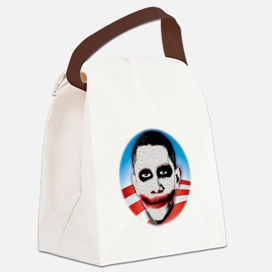 seal_shirt_dkcp Canvas Lunch Bag