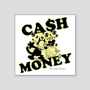 "2-cashmoney Square Sticker 3"" x 3"""