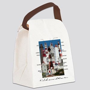 Norway 4.5x5.75 Canvas Lunch Bag