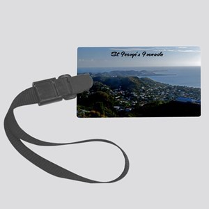 St Georges Grenada12x18 Large Luggage Tag