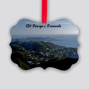 St Georges Grenada12x18 Picture Ornament