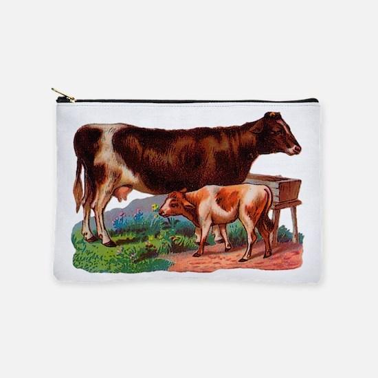 Cow And Calf Makeup Bag