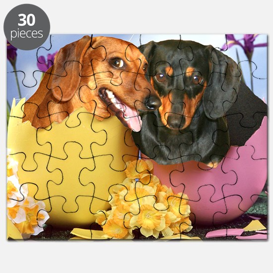 easter eggs and dogs copy Puzzle