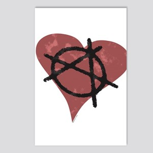 Anarchy Heart Postcards (Package of 8)
