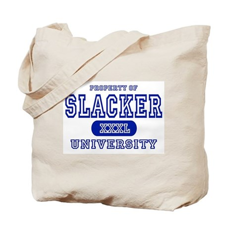 Slacker University Tote Bag