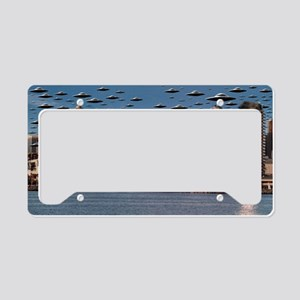 The End Of The War License Plate Holder